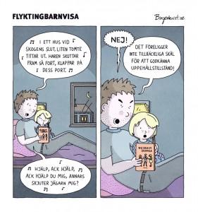 Birgerkvist: Flyktingbarnvisa