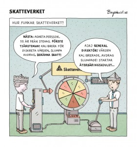 Birgerkvist: Skatteverket
