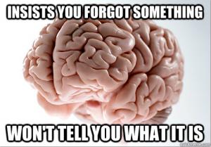 Scumbag Brain #9